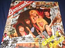 PAUL DIANNOS BATTLEZONE. signed Vinyl  album IRON MAIDEN PAUL DIANNO