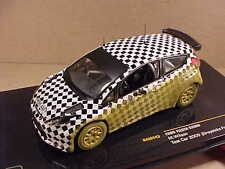 Ixo 1/43 Diecast Ford Fiesta S2000 2009 Test Car, Greystoke Forest  #RAM443