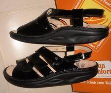 FINN COMFORT WOMEN'S  Sandals Finnamic 1579 Concord Black UK 40. US size 10.