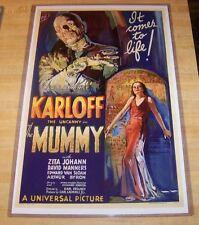The Mummy Boris Karloff 11X17 Universal Movie Poster