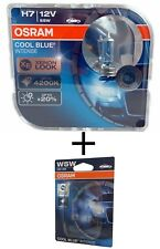 H7 OSRAM Cool Blue INTENSE 4200K 64210CBI-HCB + W5W Cool Blue Intense