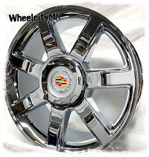 24 Inch Chrome 2007 2013 Cadillac Escalade Oe Replica Wheels 5309 6x55 31 4x