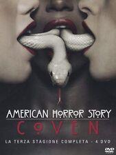 American Horror Story -Stagione 3- Coven 4 DVD - ITALIANO ORIGINALE SIGILLATO -