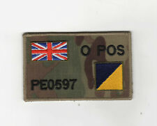 "MULTICAM MTP ZAP BADGE + UNION JACK & RLC SIZE: 4"" x 2.5"" Hook & loop backed"