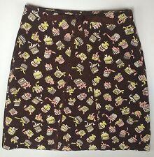 Anthropologie Womans Skirt Size 4 Light Corduroy  LBFO