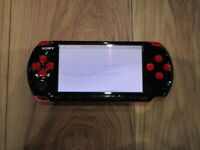 Sony PSP 3000 console RedxBlack Japan B527