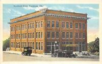 D46/ Tuscaloosa Alabama AL Postcard Burchfield Hotel Building c1915