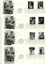 3649 (3649a-t) Masters of Photography 20 Artcraft FDCs