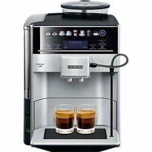 Siemens EQ.6 Plus s300 TE653501DE Kaffeevollautomat  silber