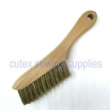 Brass Wire Lint Brush / Lint Chaser Clothing Brush