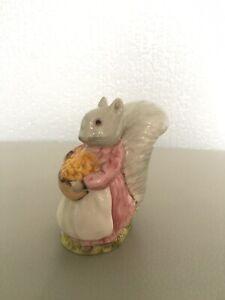 "Royal Albert Beatrix Potter Figurine ""Goody Tiptoes"" Perfect Condition"