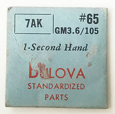 Bulova Brand New 7AK GM3.6/105 Vintage 1-Second Hand Only #65 NOS Sealed Package
