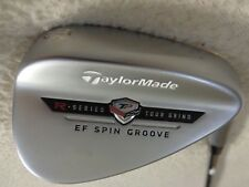 TaylorMade TP Ef Satin Chrome 56*/12* Sand Wedge w/KBS Wedge Flex Steel Shaft