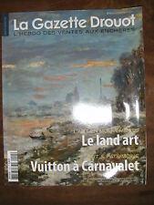 La Gazette Drouot N°5 2011 1105 Land Art Vuitton Dasson Françoise de Lastic