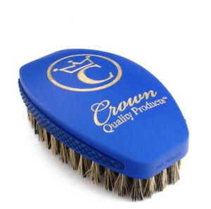 Crown Quality Products 360 Sport Caesar 2.0 Wave Brush Medium (Blue)
