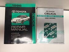 1996 Toyota Celica Oem Factory Repair Manual and Electrical Wiring Diagram Set