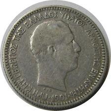 elf Crete under Greece 50 Lepta 1901 A  Silver