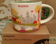 Starbucks coffee Mug/taza vaso/Madrid You Are Here/Yah, nuevo!!! con SKU I. box!