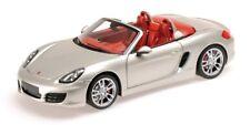 2012 Porsche Boxster s 981 C Silver Silber 1 18 MINICHAMPS