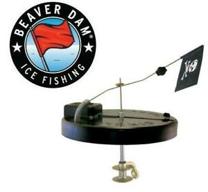 Beaver Dam Arctic Circle Thermal Jolly Roger Tip-Up BD10JR