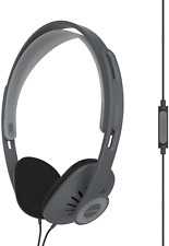 Koss KPH30iK On-Ear Headphones, in-Line Microphone and Touch Remote Control, and