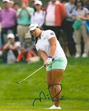 MIRIM LEE signed LPGA 8x10 photo with COA F