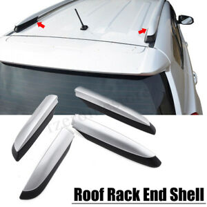 4x Roof Rack Rail End Cover Shell Replacement For Toyota RAV4 XA40 13- 18  QQ
