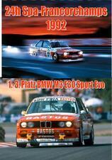 DVD: 24h Rennen Spa-Francorchamps 1992 - BMW M3 E30 Bastos / Tourenwagen / DTM