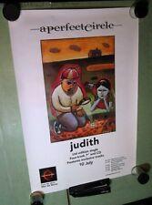 Perfect Circle Judith Poster with Uk Tour Dates tool A Perfect Circle