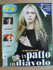 TV Sorrisi e Canzoni n°15 1998 Speciale I 50 anni di PATTY PRAVO  [D6]