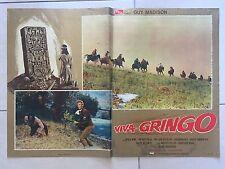 FOTOBUSTA VIVA GRINGO, Guy Madison, Francisco Rabal, Battaglia SPAGHETTI WEST.