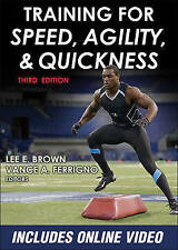 Training for Speed, Agility, and Quickness by Vance A. Ferrigno, Lee E. Brown...