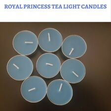 PREMIUM GRADE 8 Scented Tea Light Candles - Royal Princess Scent  - 4 Hour Burns