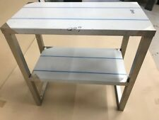 Stainless Steel Double Tier Bench Mounted Over Shelf Size 600 L x 300 W x 600 H
