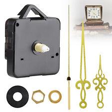 Diy Wall Quartz Clock Movement Mechanism Replacement Tool Parts Set Gold Hands