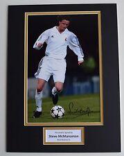 Steve McManaman SIGNED autograph 16x12 photo display Real Madrid Football COA