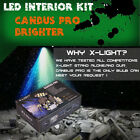 8x Xenon white LED lights interior package kit for 2011-up Lexus CT200h