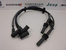 Dodge Jeep New Spark Plug Wires Ignition Cables 3.7L Magnum V6 Set of 3 Mopar Oe