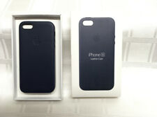 NEW Apple Authentic Original MIDNIGHT BLUE  iPhone 5/5S/SE Leather Case -- USA