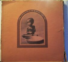 """George Harrison and Friends """"The Concert for Bangladesh"""" 3LP Record Box 1971 VG+"""