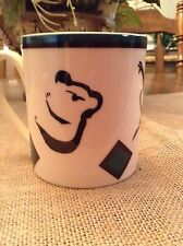 Koala Bear Made In Australia Ivory Color Coffee Mug Weiss-Green & Black Colors