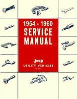 1954 1956 1957 1958 1959 1960 Jeep Shop Service Repair Manual Engine Drivetrain