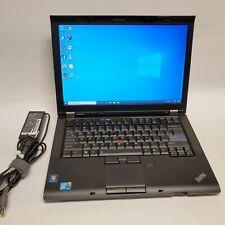 Lenovo Thinkpad T410 Laptop Core i5 250GB HDD 4GB Ram Windows 10 pro w/ Charger
