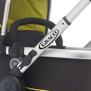 GRACO Replacement pram logos. Vinyl decal pushchair, stroller. Transfer sticker