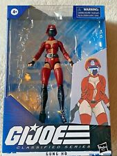 "CUSTOM GI Joe 6"" Classified FEMALE CRIMSON GUARD - 50% goes to K9s For Warrior"