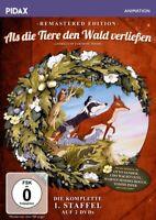 ALS DIE TIERE DEN WALD VERLIESSEN  STAFFEL 1-  2 DVD NEU