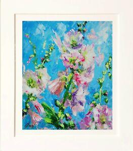 Pink Blossom by Elena Bond  (Framed Fine Art)