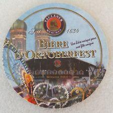 France Very Rare Unused Paulaner München (Germany) Beer Coaster Bierdeckel