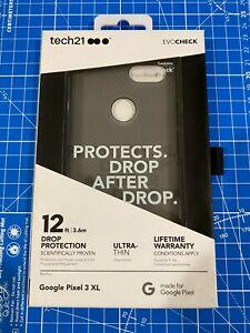 Tech21 Evo Check for Google Pixel 3 XL Smokey/Black FlexShock Impact Protection