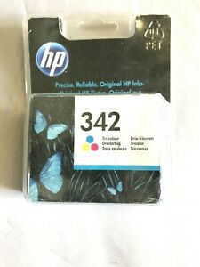 Genuine HP C9361EE 342 Original Ink Cartridge, Tri-Colour, Single Pack